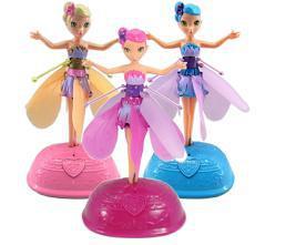 как заряжать куклу летающую фею