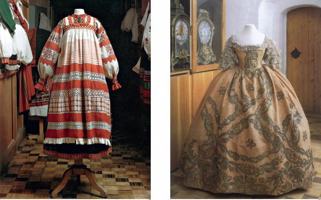 узоры русских народных костюмов