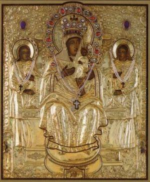Чудотворная Кипрская икона Божией Мамы