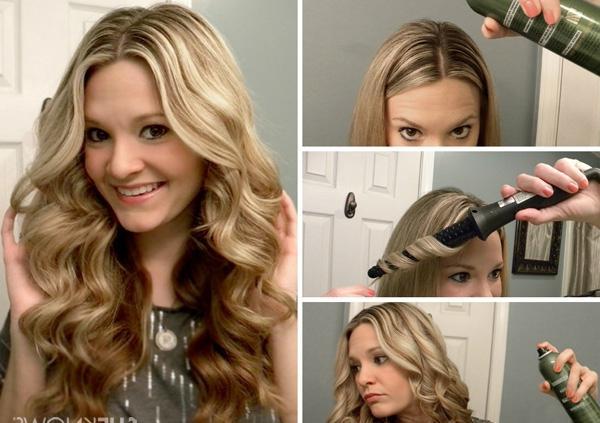Как накрутить волосы конусной плойкой