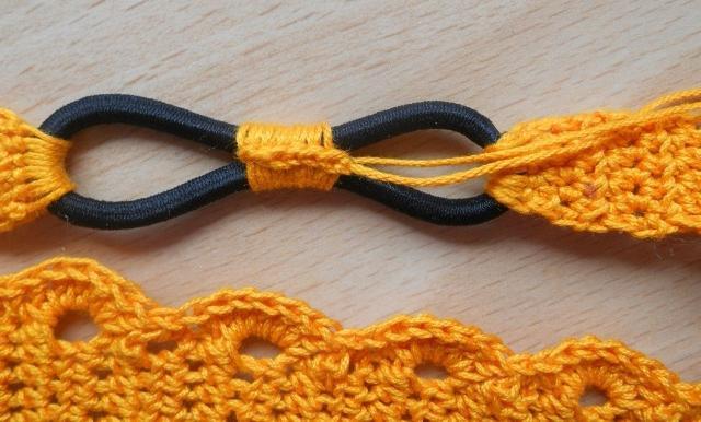 повязка крючком
