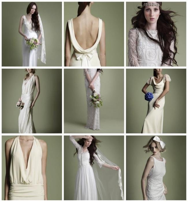 Изберите свадебное платьице в стиле ретро для собственного самого…