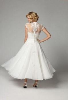 Выберите свадебное платье в стиле ретро для своего самого счастливого дня
