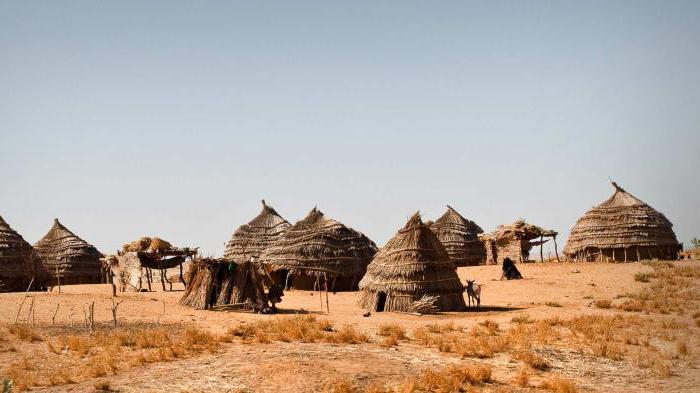 Нигер одна из самых жарких стран мира