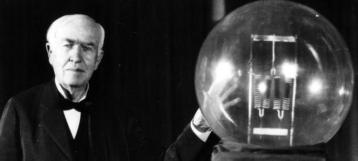 Картинки по запросу эдисон лампочка