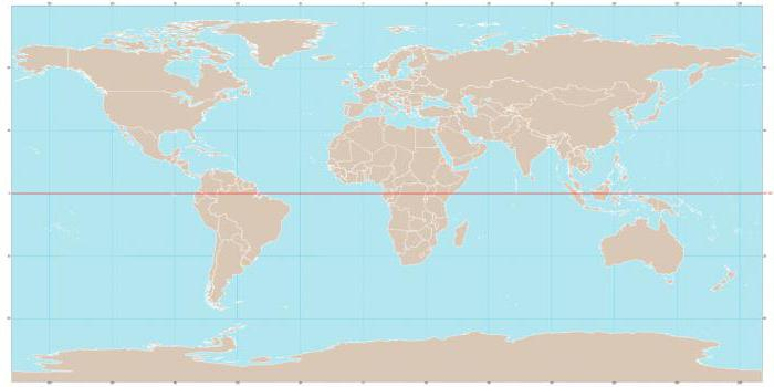 какие материки пересекает экватор