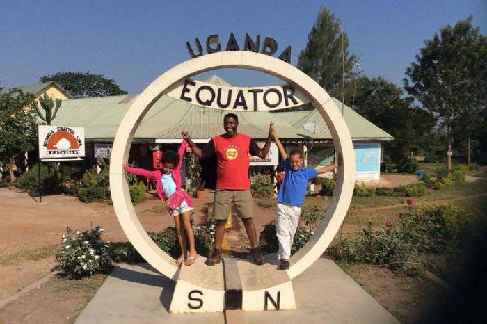экватор пересекает материки