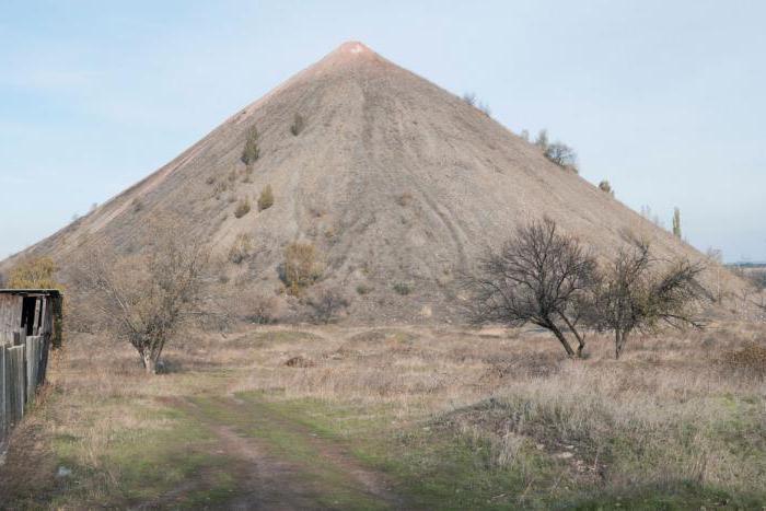 особенности рельефа Украины полезные ископаемые