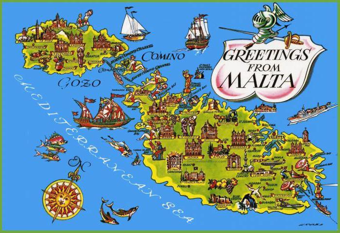 география 6 класс географическая карта