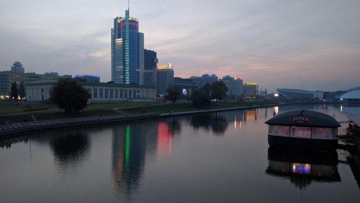 река Свислочь в Минске
