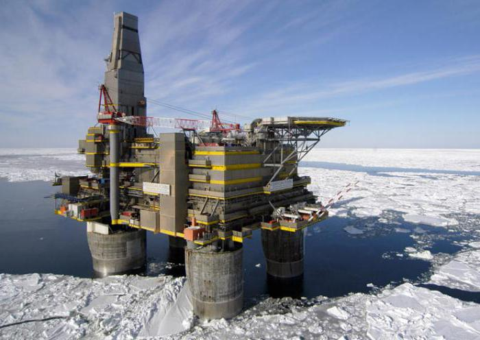 нефтяные месторождения Сахалина