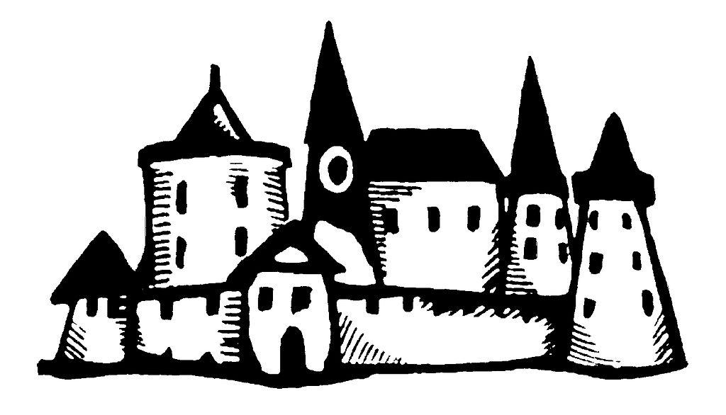 Картинка символами дворец
