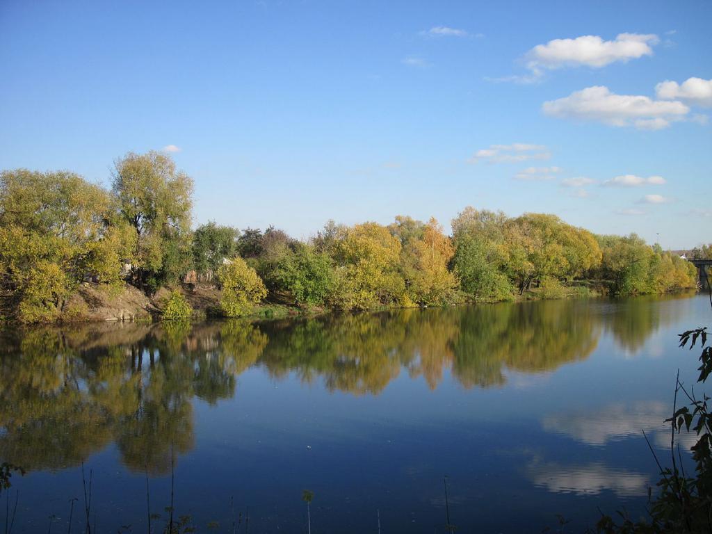 Приволжская возвышенность реки