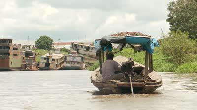 Хозяйственное использование реки Амазонки