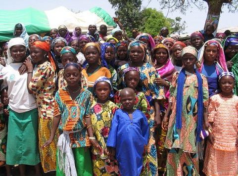 счетчик населения Нигерии