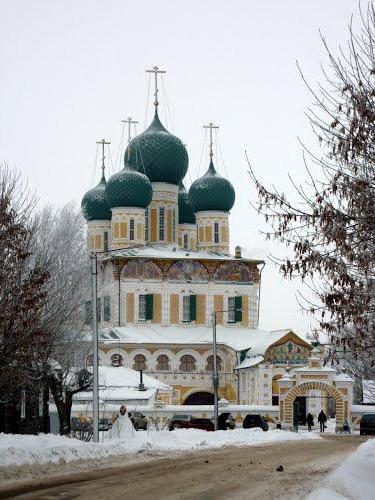 Воскресенський собор Тутаева: історія, архітектура, внутрішнє оздоблення