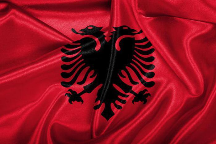 Картинки по запросу Албанский флаг