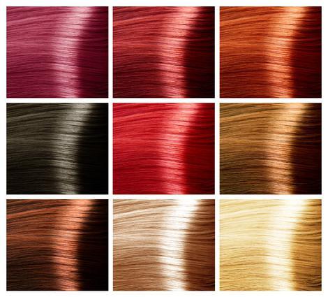 цвета профессиональных красок для волос