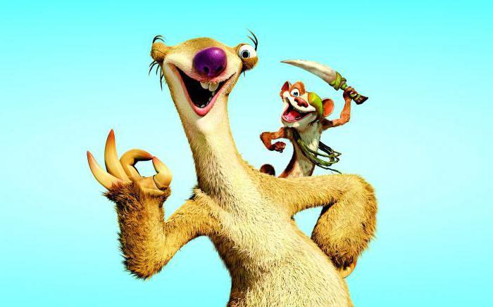 Ленивец из ледникового периода как их зовут фильмы похожие на хроники нарнии гарри поттера