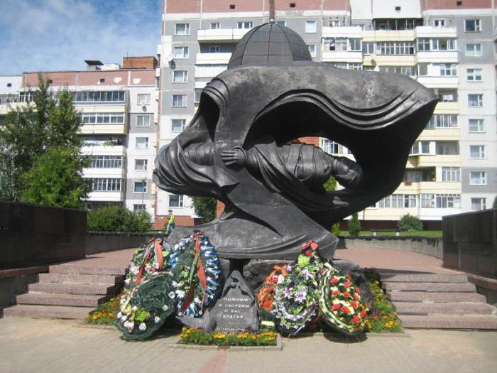 Скорбящая мать: памятник погибшим сыновьям