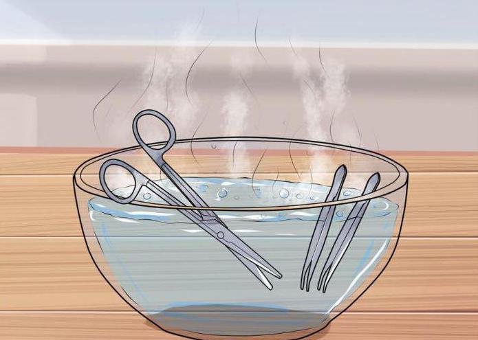как снимать швы после операции в домашних условиях