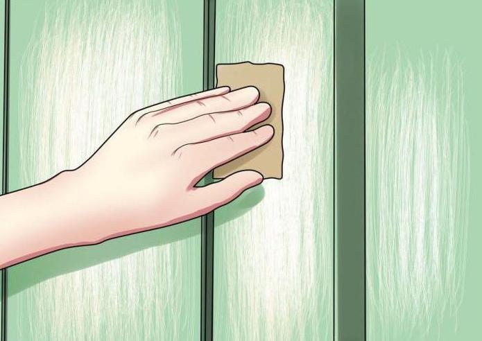 чем и как удалить старую краску с деревянной поверхности
