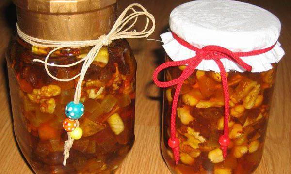 мед с орехами польза для мужчин