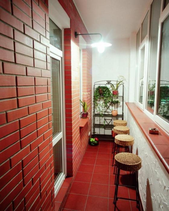 балкон в стиле лофт своими руками