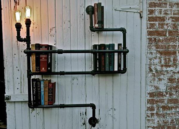 и маленький балкон стиль лофт