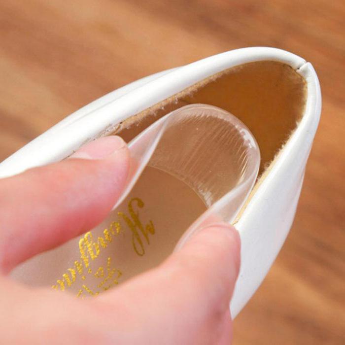 Как сделать чтобы задники у обуви не натирали8