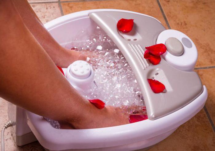 Ванночки для ног гидромассажные польза и вред