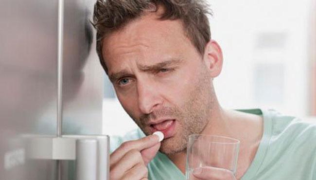 аспирин с похмелья