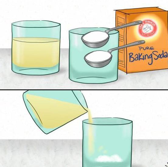 Тест на беременность при помощи соды