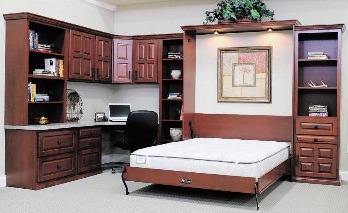 Сборка кровати с подъемным механизмом