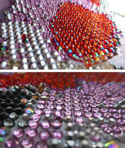 алмазная вышивка грани отзывы