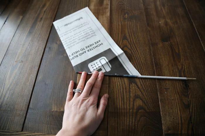 из газетных трубочек своими руками