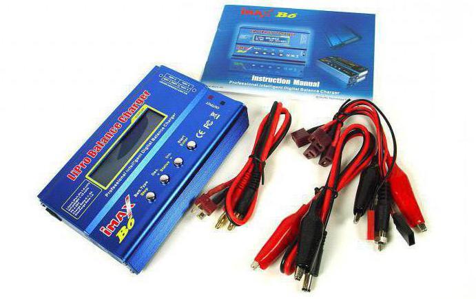 зарядное устройство imax b6 инструкция