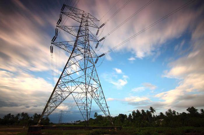 радиальная схема электроснабжения