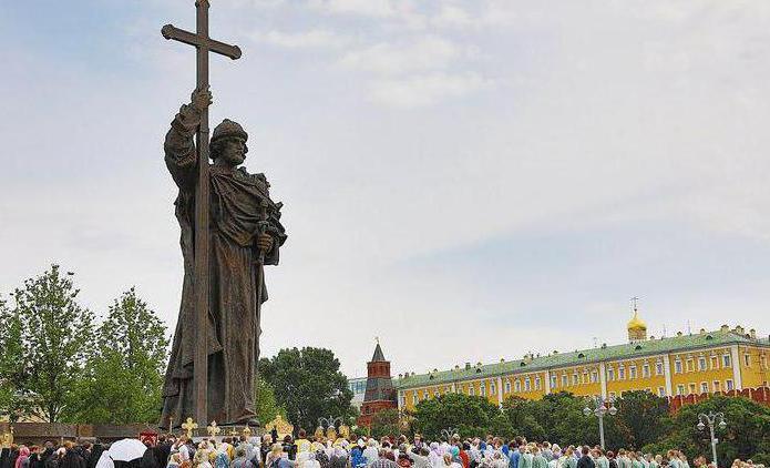 28 июля — День Крещения Руси