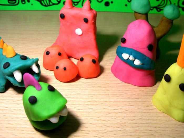 красивые поделки из пластилина для детей