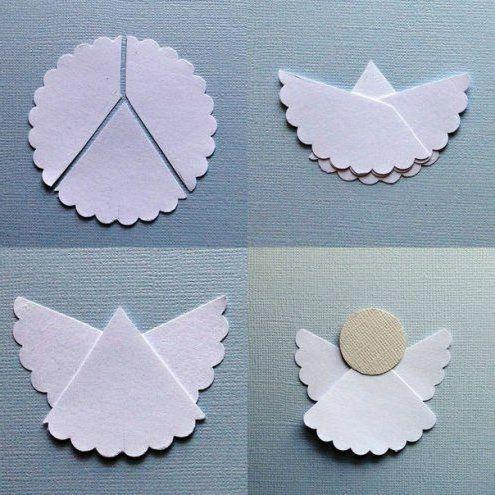новогодний ангел своими руками из ткани