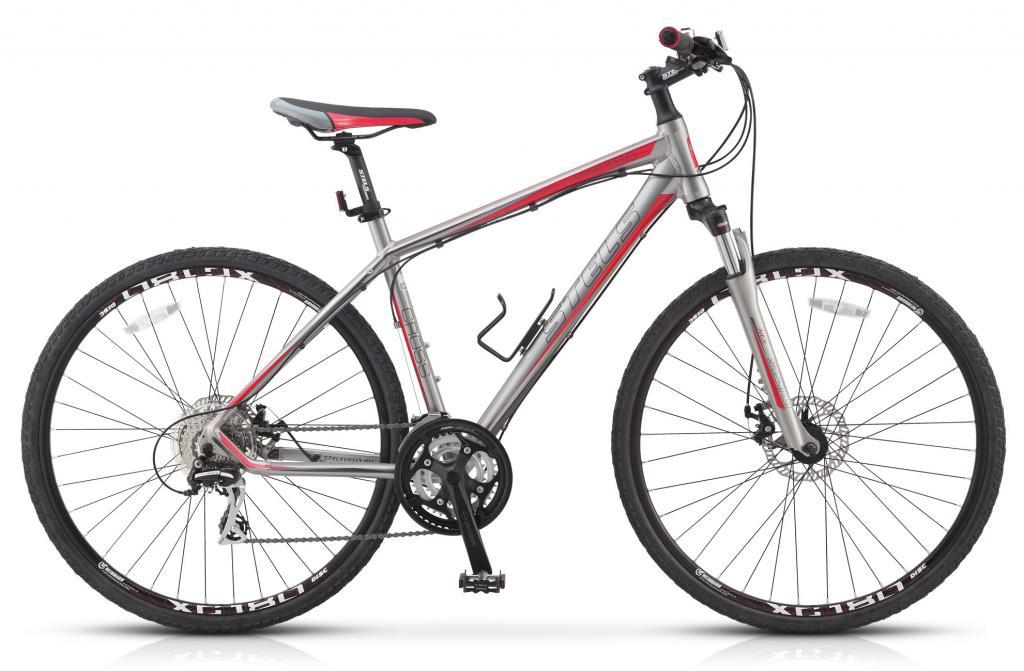 гибридный велосипед стелс