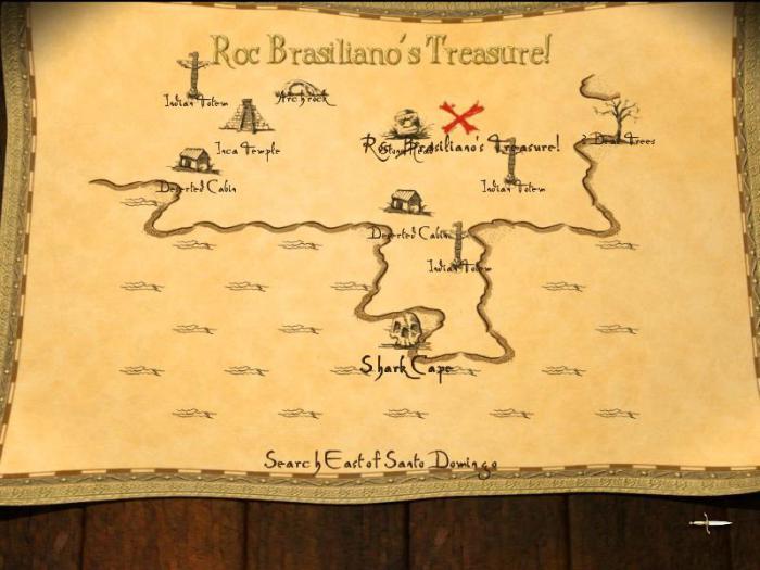 карта клада