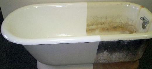 покрытие чугунной ванны эмалью отзывы