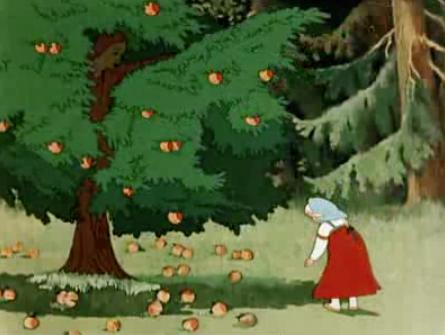 сценарий яблочный спас для детей
