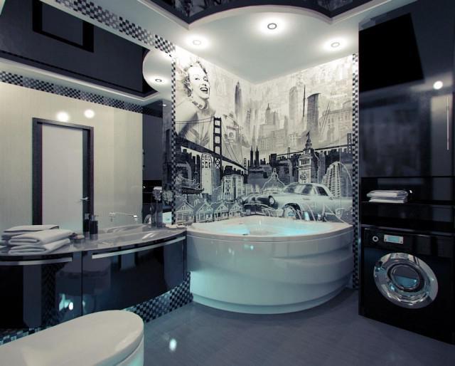 Дизайн красивые ванные комнаты