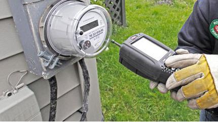 Двухфазный счетчик электроэнергии