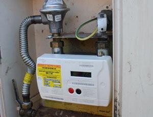 Установка электросчетчика в частном доме на улице