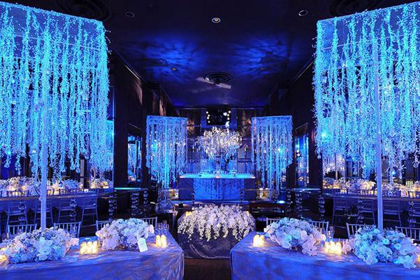 Свадьба в синем цвете: идеи