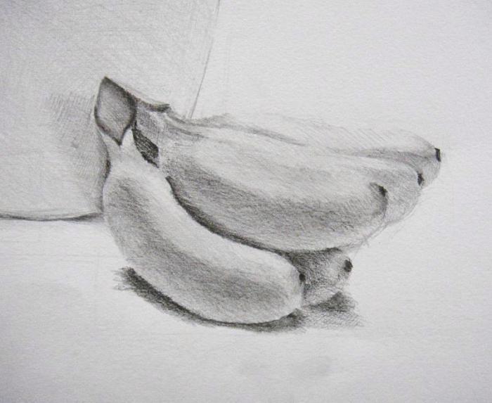 рисовать карандашом овощи: